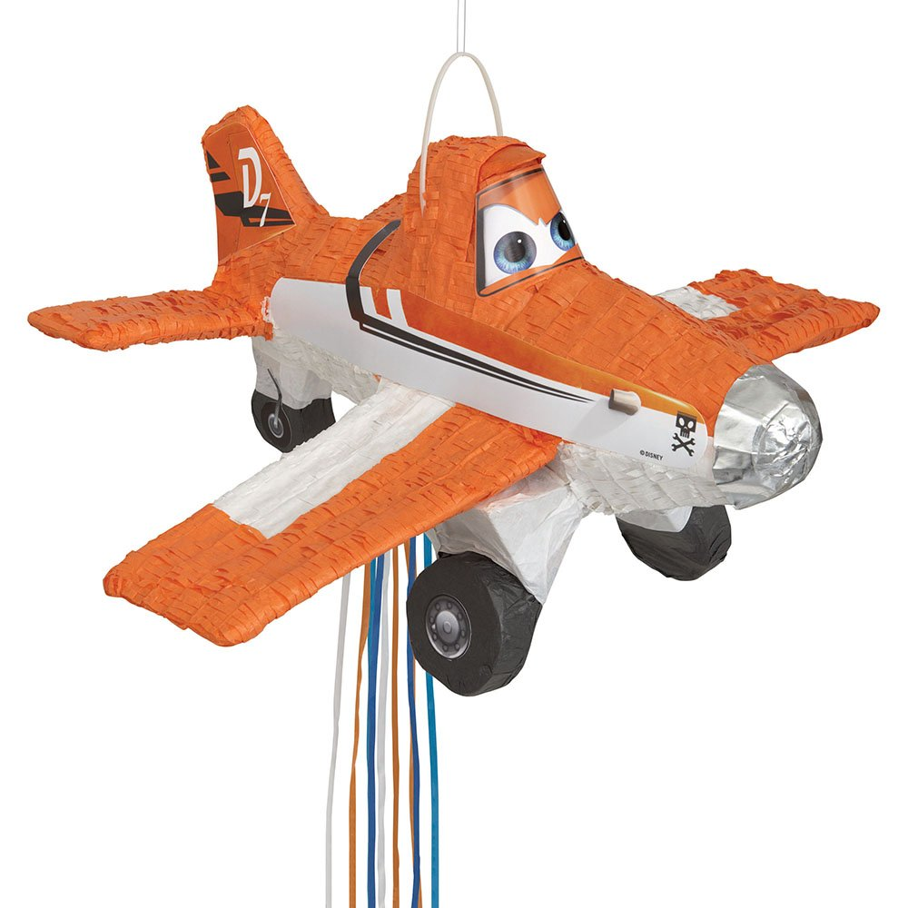 Disney Planes Pinata, Pull String by Unique (Image #1)