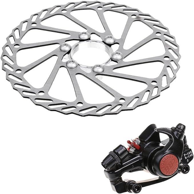 Gazechimp 1X Paquete de Rotor de Freno de Bici Tornillas Freno de Disco Mecánico Equipo de Ciclismo de Bien Ajuste para Montaje Delantero Trasero: Amazon.es: Deportes y aire libre