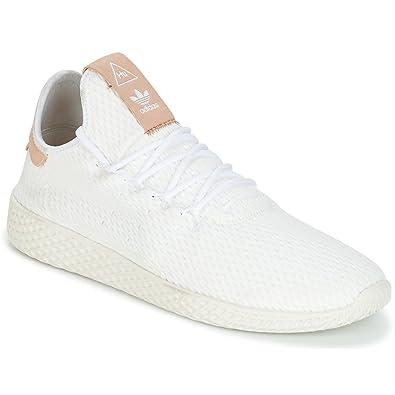 Sneaker Mens Pharrell Weiss Adidas Originals Low Tennis Hu Williams PkuOZiX