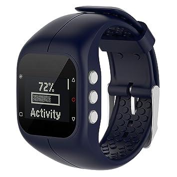 cyeeson polar A300 reloj inteligente Watch Reemplazo Banda suave silicona correa de pulsera Smartwatch Pulsera Banda