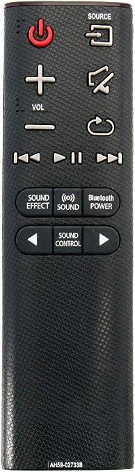 ALLIMITY AH59-02733B T/él/écommande remplac/ée pour Samsung Soundbar HW-J4000 HW-K350 HW-K360 HW-K550 HW-KM37 HW-KM45C HW-JM4000C HW-K355 HW-K450 HW-K651 HW-KM39