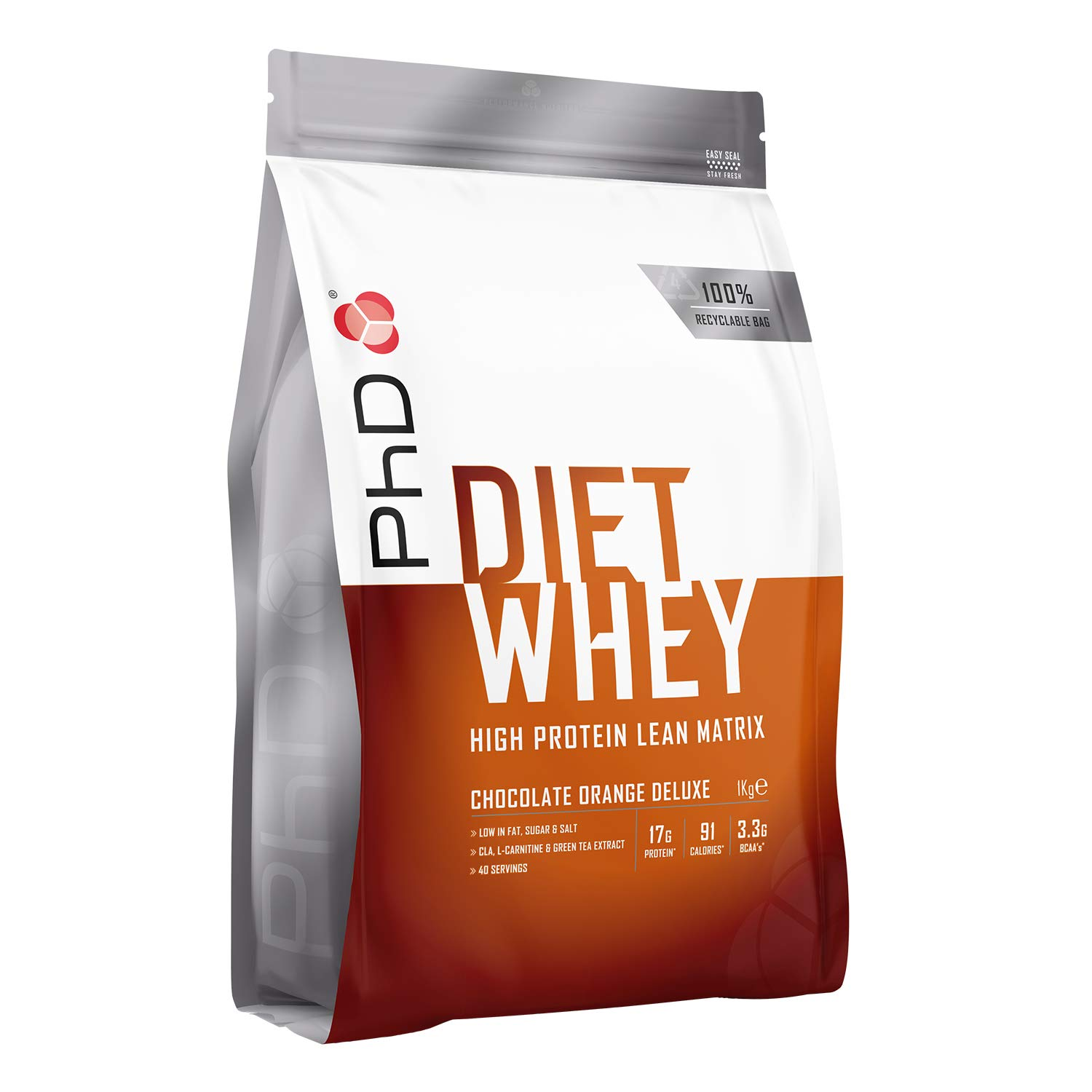 PhD Nutrition Diet Whey 1kg - Chocolate Orange