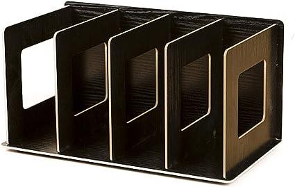 Weizq Cd Ständer Dvd Ständer Cd Aufbewahrung Dvd Aufbewahrung Cd Halter Dvd Halter Medienbox Regal Bücherregal Tisch Organizer Küche Haushalt