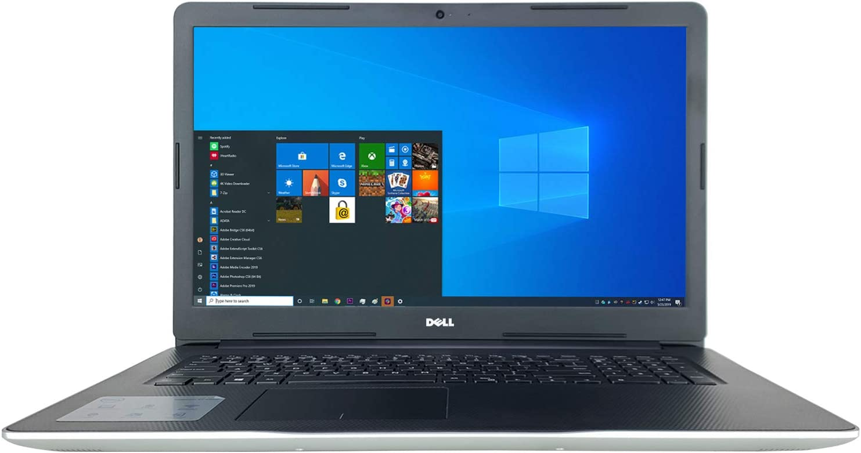 "Dell Inspiron i3793 17.3"" LED Full HD Laptop - 10th Gen Intel Core i7-1065G7 4-Core up to 3.90 GHz CPU, 16GB DDR4 RAM, 1TB SATA HDD, 2GB NVIDIA GeForce MX230 Graphics, Windows 10 Pro (64-bit)"
