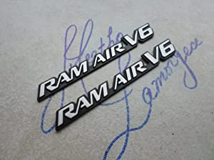 01-05 Pontiac Ram Air V6 Side Door Fender Emblem 22622403 Logo 22623545 Nameplate 22619420 Decorative Ornament 22663056 Script Set