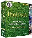 Final Draft 6.0 Professional Scriptwriting Softwa