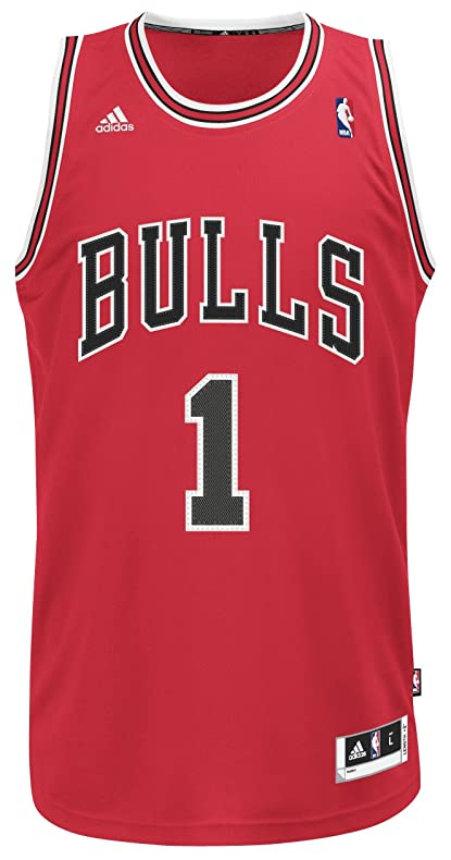 derrick rose chicago bulls jersey