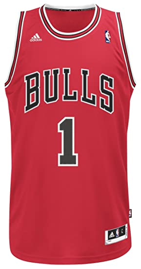302ff424 Amazon.com : NBA Chicago Bulls Derrick Rose Swingman Jersey, Red, XX-Large  : Sports Fan Jerseys : Clothing