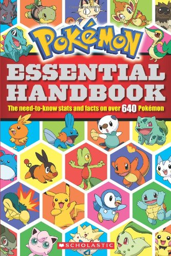 Pokemon: Essential Handbook 640 Pokemon