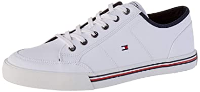 Sneakers TH Core iconiche in pelle | BLUE | Tommy Hilfiger