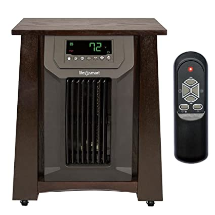 Attractive Lifesmart 6 Element Infrared Quartz Electric Portable Space Heater W/ 3  Settings