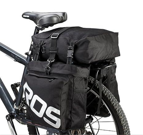 Amazon.com: Roswheel - Bolso para maletero de bicicleta, 37 ...