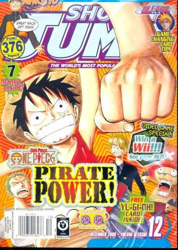 Shonen Jump 12 December 2008 (One Piece, Naruto, Yu Gi Oh, Bleach, Bobobo-bo Bo-bobo)