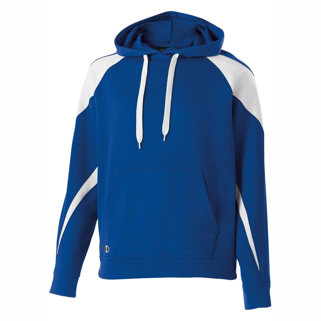 Holloway Youth Prospect Hoodie (Large, Royal/White) by Holloway