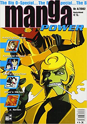 Manga Power Nr. 4/2002 - Kunfu Girl Juline/Kindaichi Shonen/What´s Michael u.a. Serien