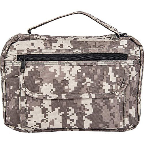 Mens Mans Boys Camo Bible Scripture Book Tote Protective Carrier Holder Cover (Scripture Cover)
