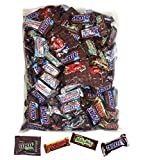 Halloween candy Mars Variety Chocolate Favorites 92 fun size Pieces 3 lbs individually wrapped assortment