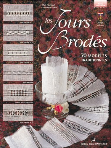 Read Online Les Jours brodés : 70 modèles traditionnels pdf epub