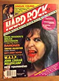 img - for Hard Rock Video magazine April 1986 (missing centerfold) book / textbook / text book