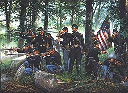 John Paul Strain/'s Sacred Ground On Little Round Top S//N Studio Canvas Giclee