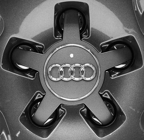 4 Original Audi A3 S3 8v Nabendeckel 4f0601165n Grau Für Felgen 8v0601025ah Auto