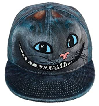 2826d91811f New Era 59Fifty Character Face Cheshire Cat Alice in Wonderland 2 Fitted  Cap (7 1