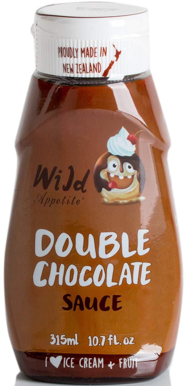 Wild Appetite Double Chocolate Sauce, 1 x 315ml (10.6oz) by Wild Appetite