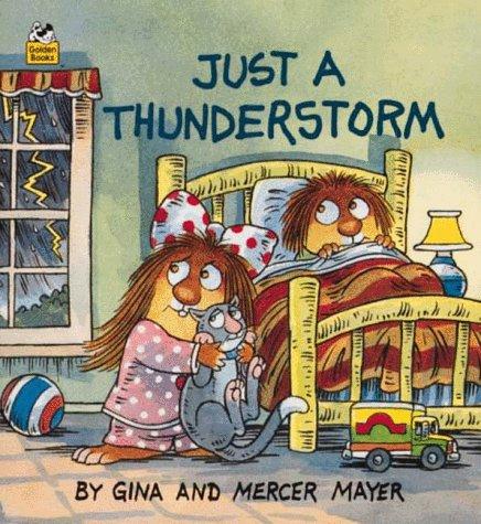 Just a Thunderstorm (A Golden Little Look-Look Book)