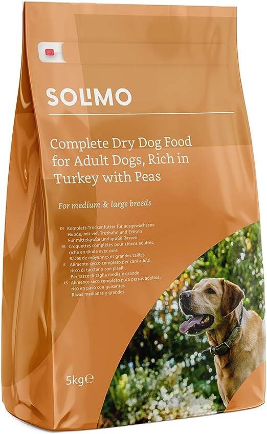 Marca Amazon - Solimo - Alimento seco completo para perro adulto ...