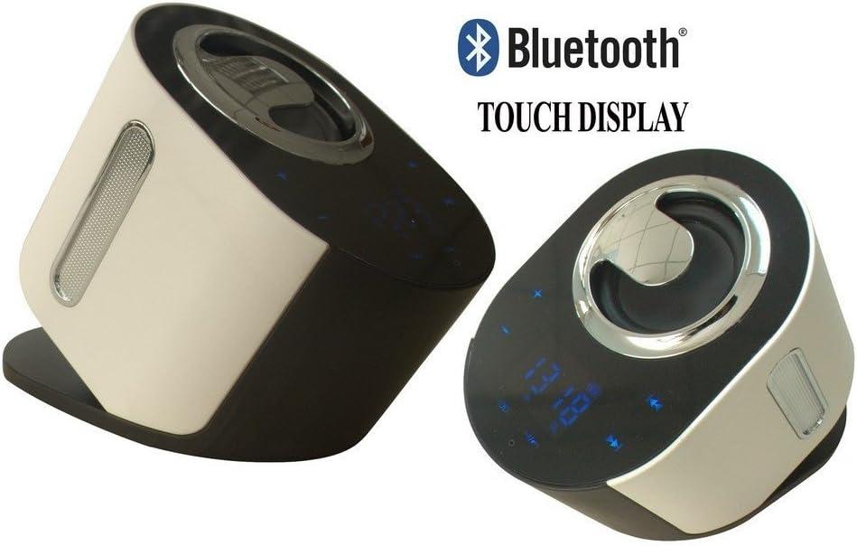 Majestic BT262Altavoz Bluetooth, Blanco