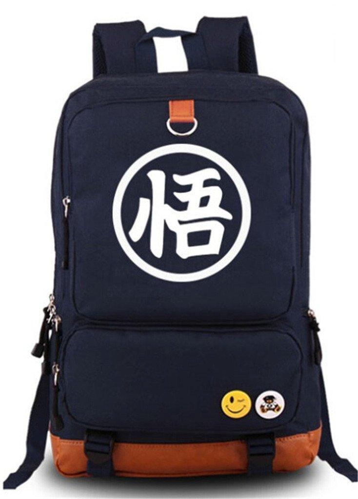 Siawasey Japaneseアニメコスプレ光Daypackバックパック肩バッグスクールバッグ B01E5COY82 DragonBall1