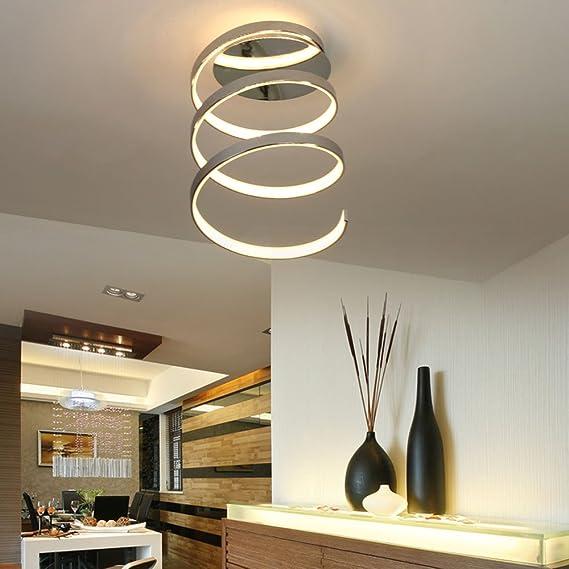 LED Deckenleuchte Design Deckenstrahler Chrom Leuchte Deckenlampe Lampe Leuchten