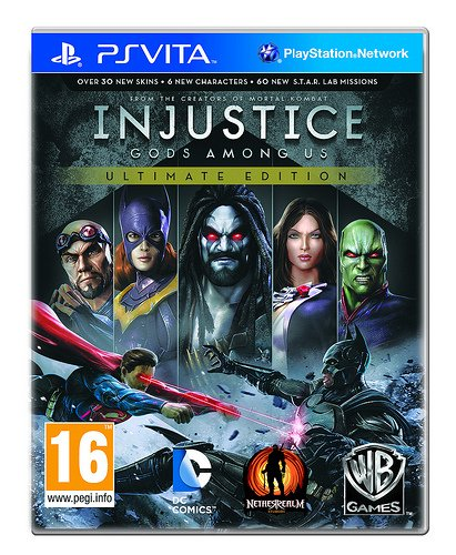 Price comparison product image Injustice: Gods Among Us Ultimate Edition - PS Vita [Digital Code]