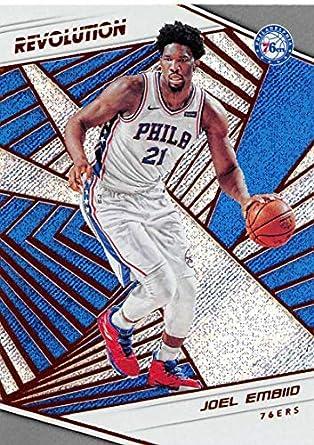 9c8797092 2018-19 Panini Revolution  35 Joel Embiid Philadelphia 76ers NBA Basketball  Trading Card