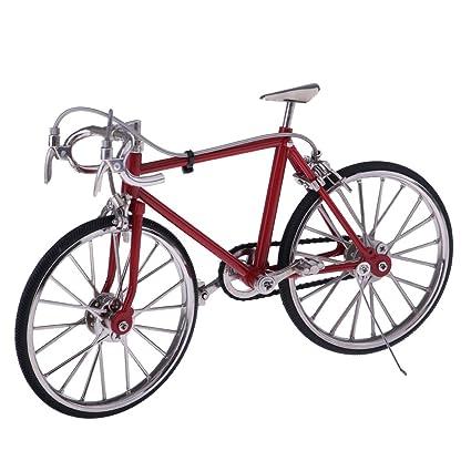 Amazon.com: Magideal 1: 10 Escala Aleación bicicleta de ...