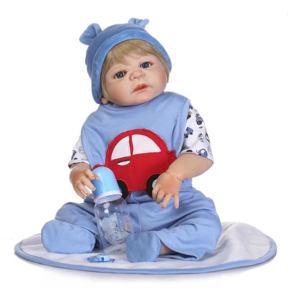 Reborn Babypuppen Die Echt Aussehen Echte Realistische Baby Puppe Handgefertigte Süße Baby-Puppe 22 Zoll 57 cm