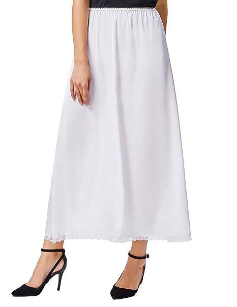 c2b8144c6603a Kate Kasin Half Slip Satin Waist Slip Underskirt Comfortable Petticoat  KK263: Amazon.co.uk: Clothing