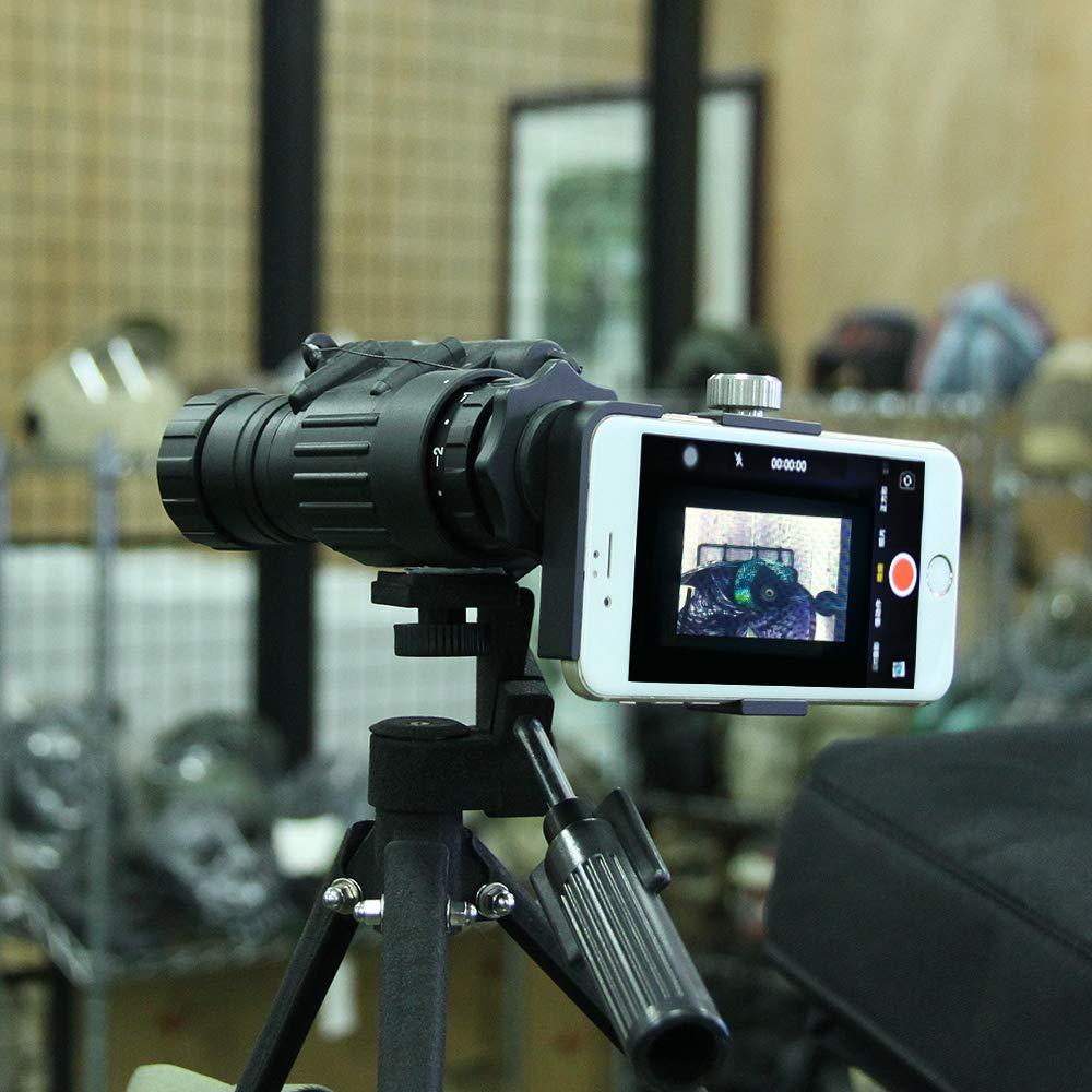 CANIS LATRANS PVS-14 Digital Night Vision Goggle IR Night Vision Monocular with J-Arm Headset Adapter PVS14(Black by CANIS LATRANS