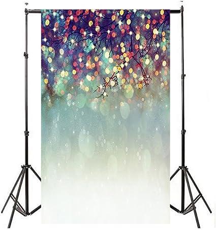 newkelly amante con purpurina de ensueño Haloes fotografía fondo Studio Props telón de fondo: Amazon.es: Oficina y papelería