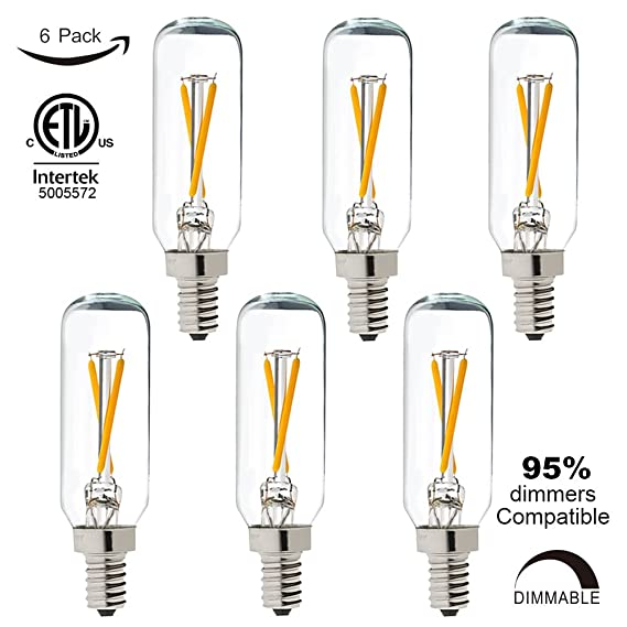 litehistory dimmable t6 led bulb 25w candelabra led 2700k clear rh amazon com