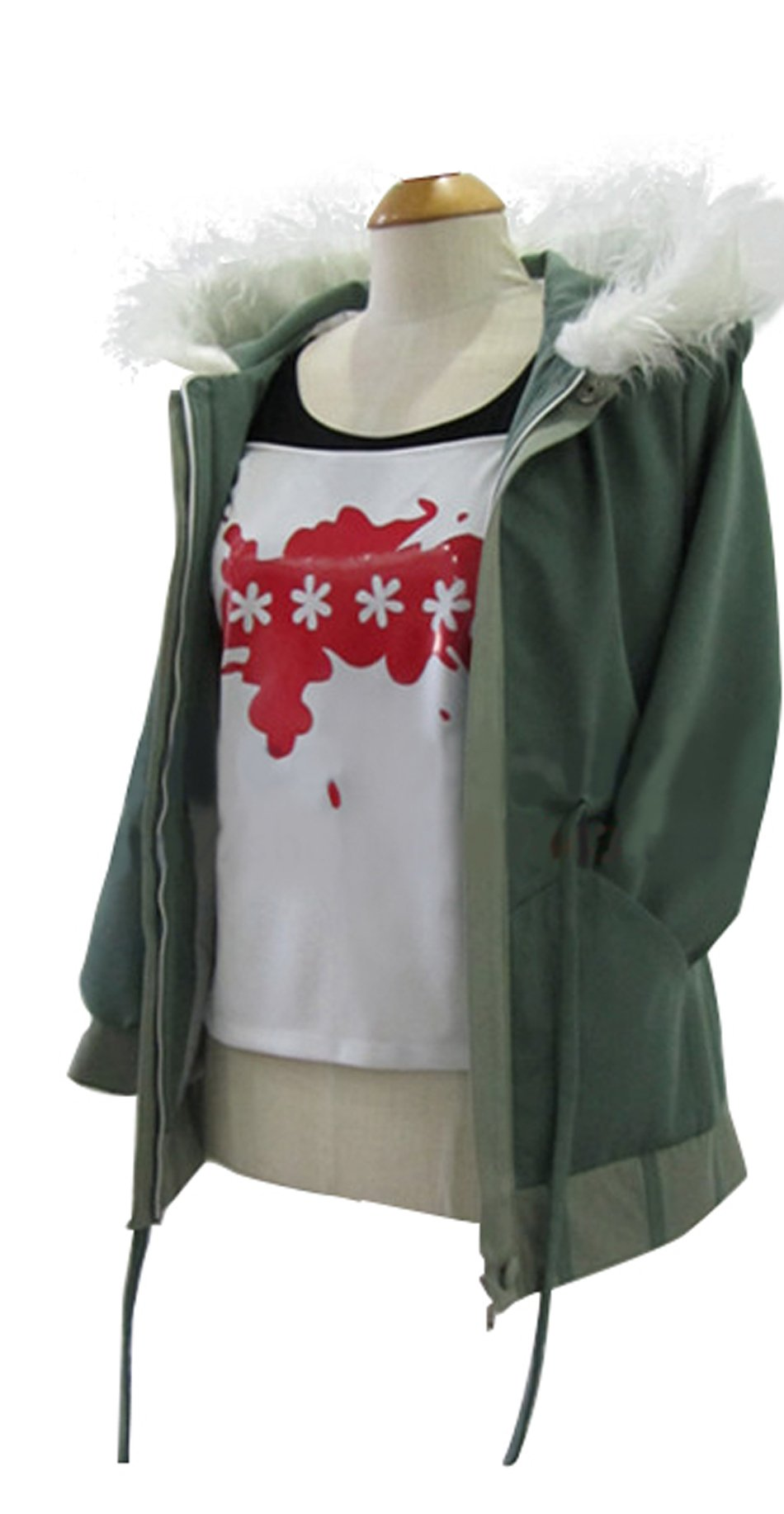 Xcostume Persona Futaba Costume Deluxe Cotton Hooded Coat Fashion Jacket XL by Xcostume
