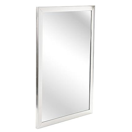Grande specchio da parete rettangolare per camere da letto, corridoi ...