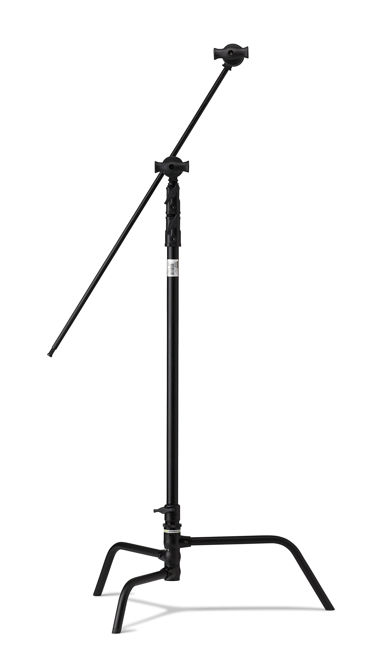 Kupo 40'' Turtle Base Kit (Stand, 2.5'' Grip Head & 40'' Grip Arm with Hex Stud) - Black by Kupo (Image #1)