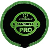 Hyperwear SandBell PRO Durable Vibrant Fitness Sandbags Ship Filled with Clean Sand Available Sizes Sold Individually 6…