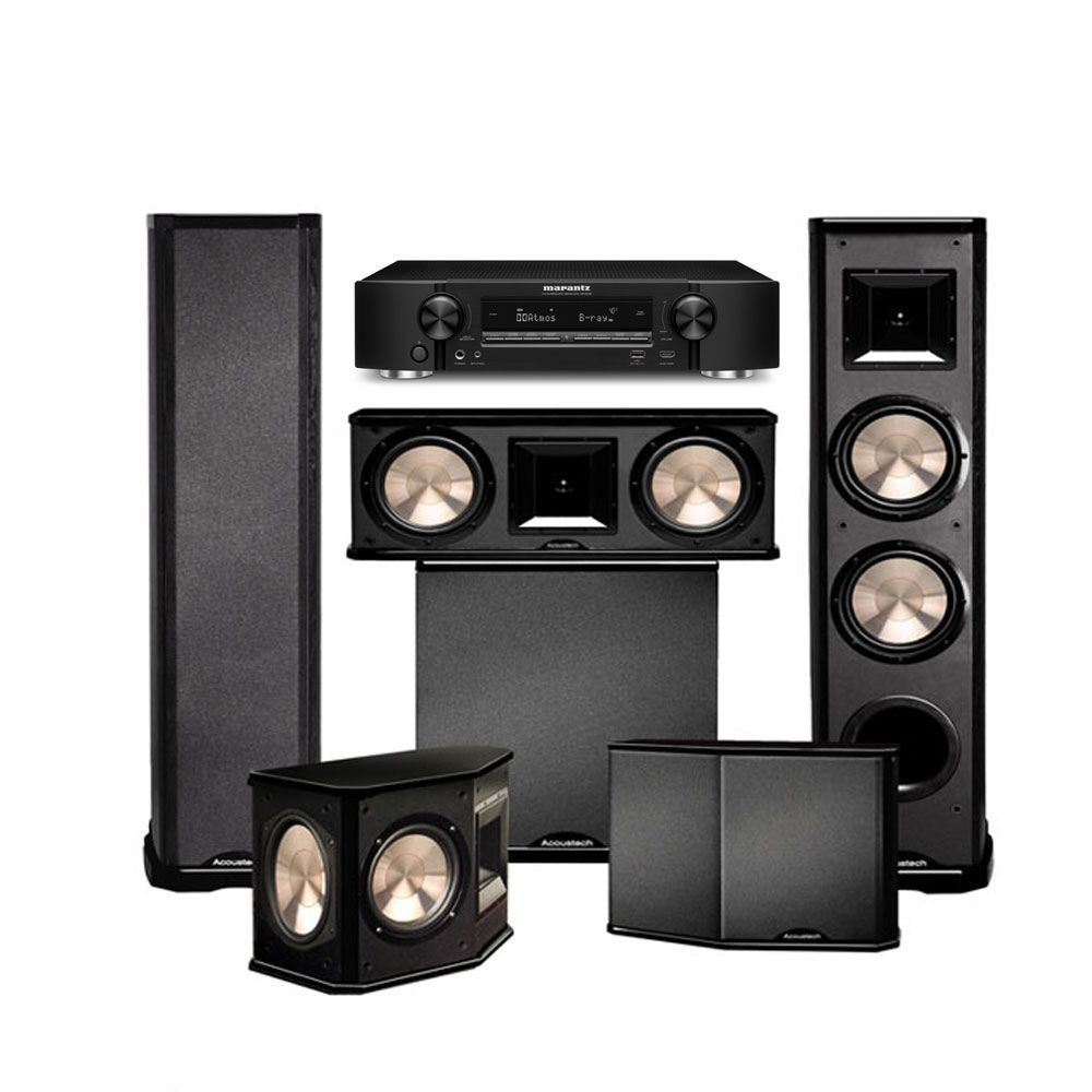 Marantz NR1606 with BIC Acoustech PL-89II Theater System and PL-200 by BIC America