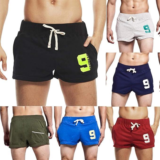 Hombre Deporte Pantalones Cortos pantalón Running Gym Pantalon ...