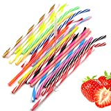 Techfeed Reusable Straws 20 Pieces 10.5