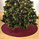 Highland Holiday Decor Plaid Design Christmas Tree Skirt, One Piece by fenncostyles.com
