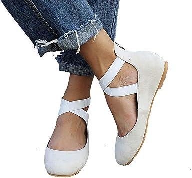 Womens Woven Slip On Sneaker Flat Shoes Round Toe Criss Cross Braid Webbing