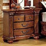 Furniture of America Bellagrand Oak